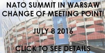 8 JULY 2016 – change of our meeting point!